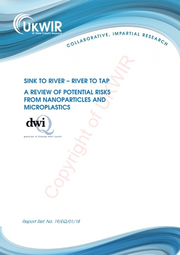 'Sink to River, River to Tap' microplastics report - UK Water Industry Research