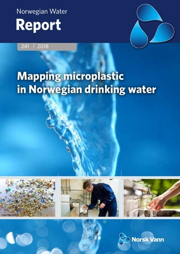 Norsk Vann report on microplastics in drinking water