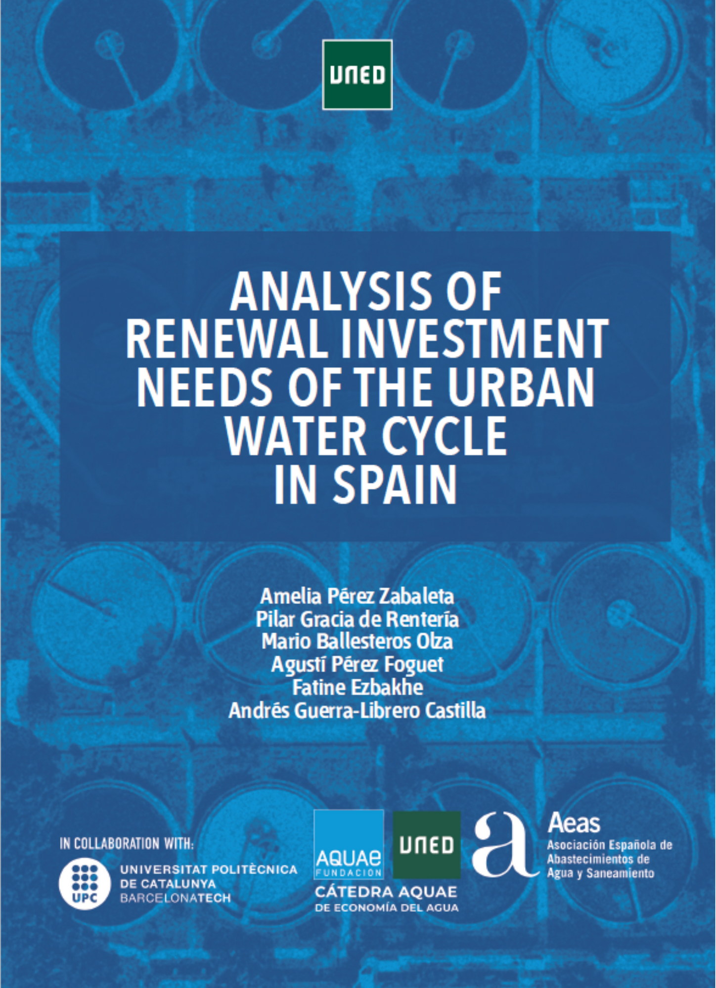 Analysis of the Renewal Investment needs of the Urban Water Cycle in Spain