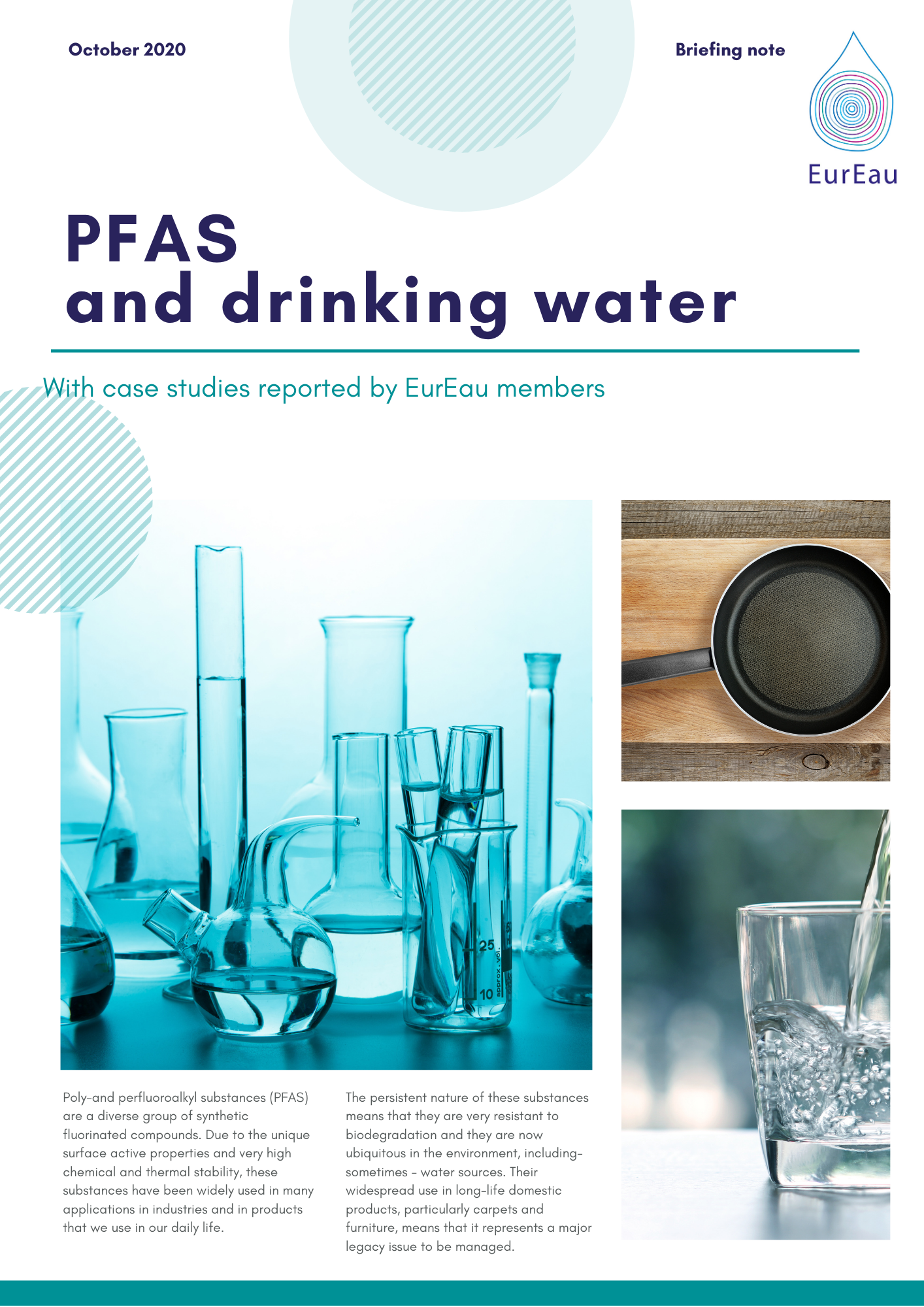 Briefing note on PFAS and drinking water