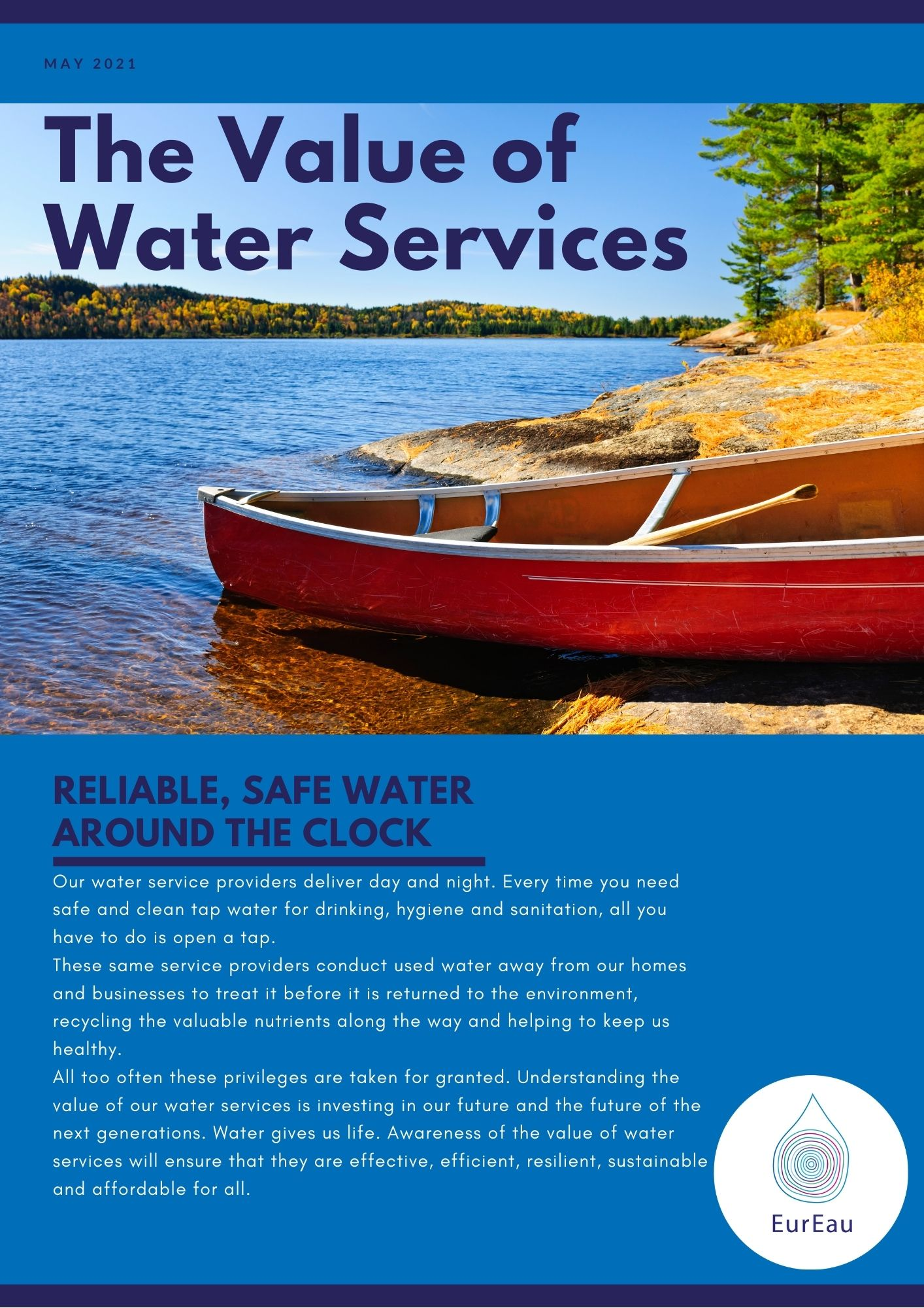 The Value of Water Services