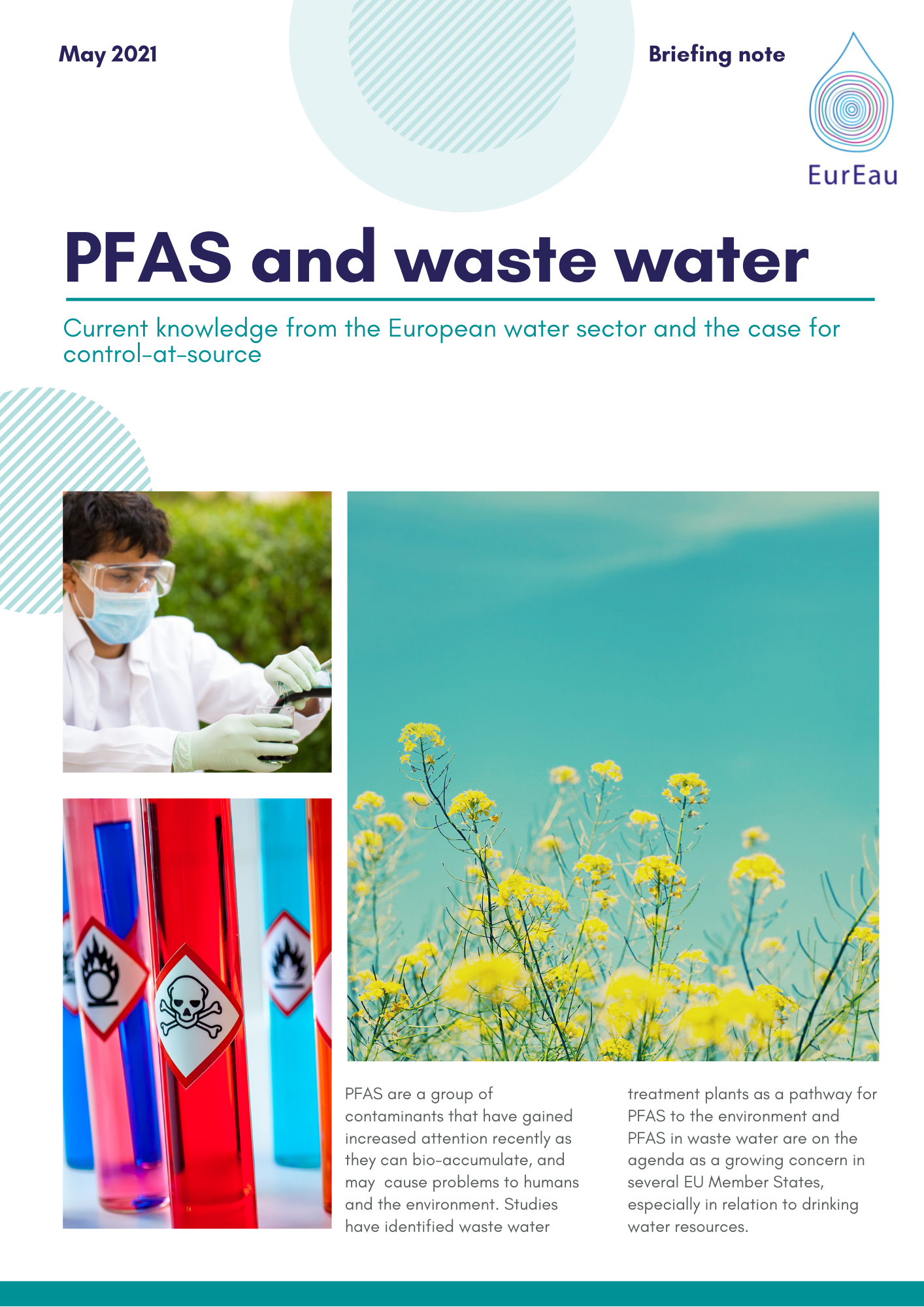 Briefing Note on PFAS and Waste Water