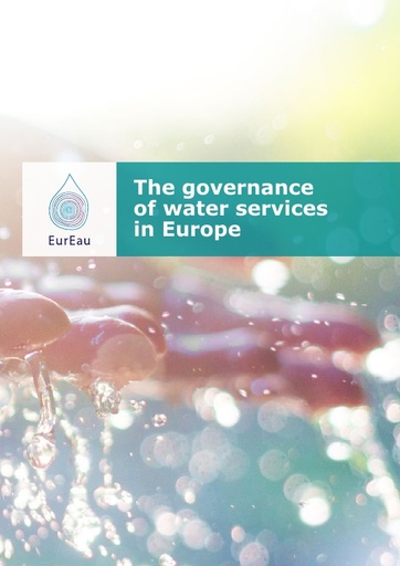 Report on the governance of water services in Europe