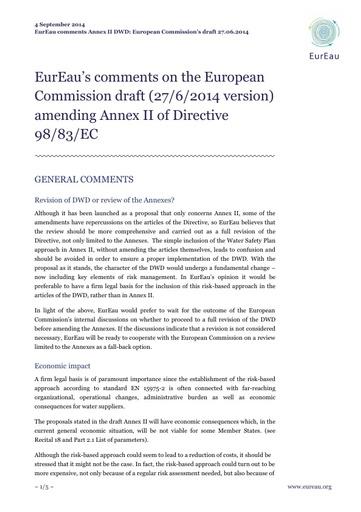 DWD Revision Draft - Annex II final