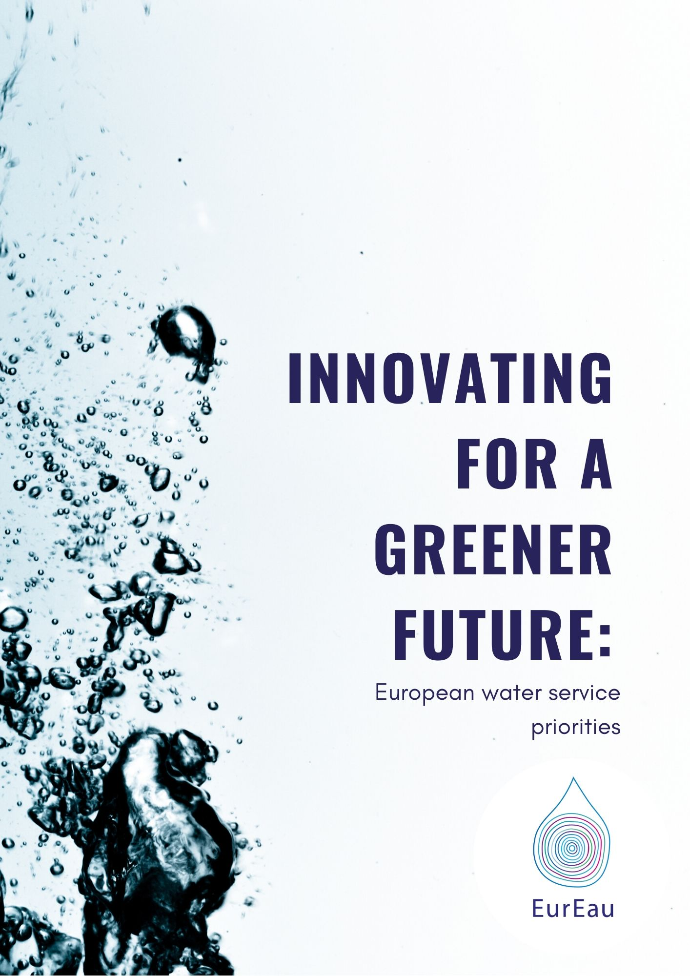 Innovating for a greener future: European water service priorities