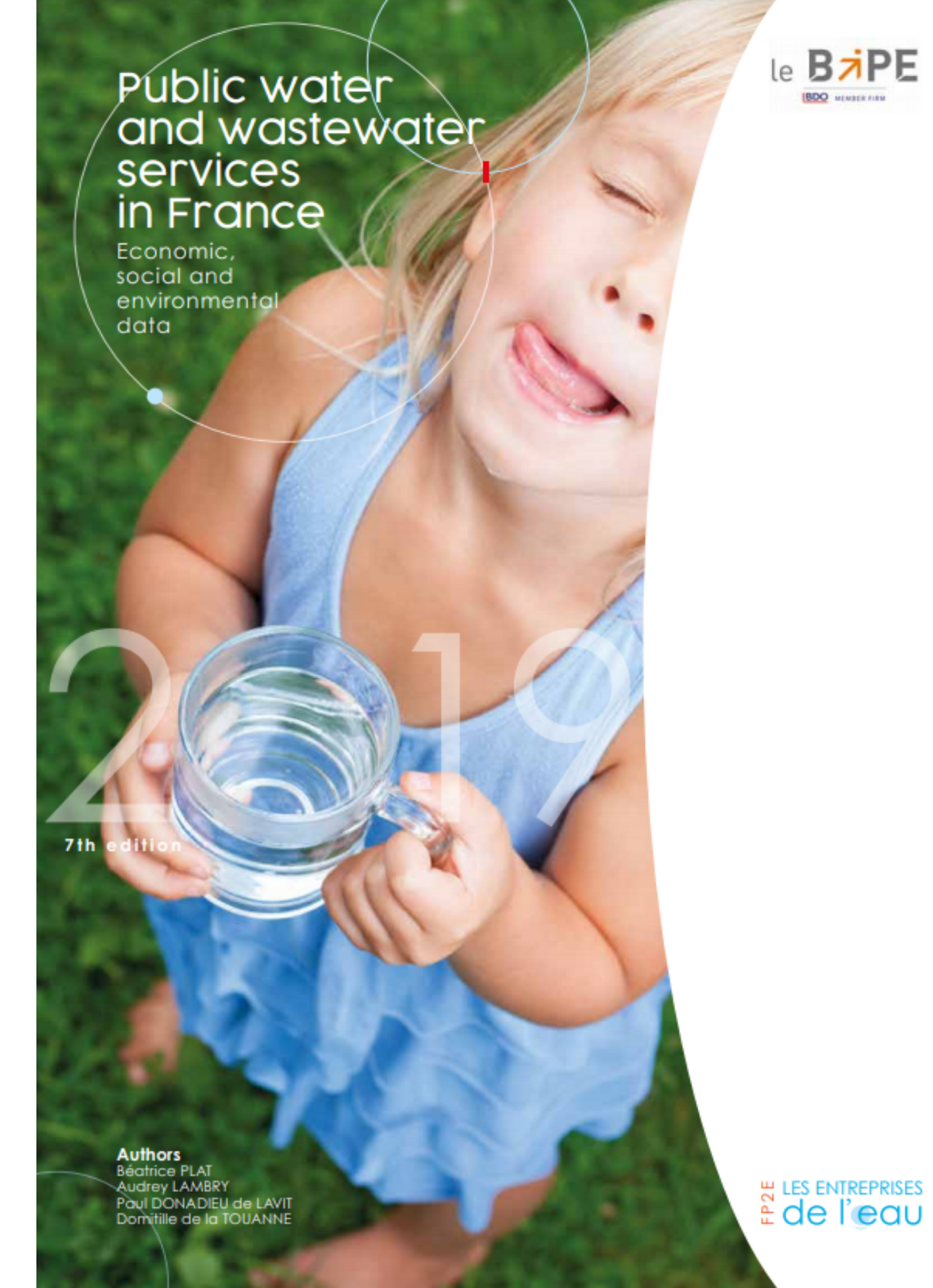 Public water and  waste water services in France