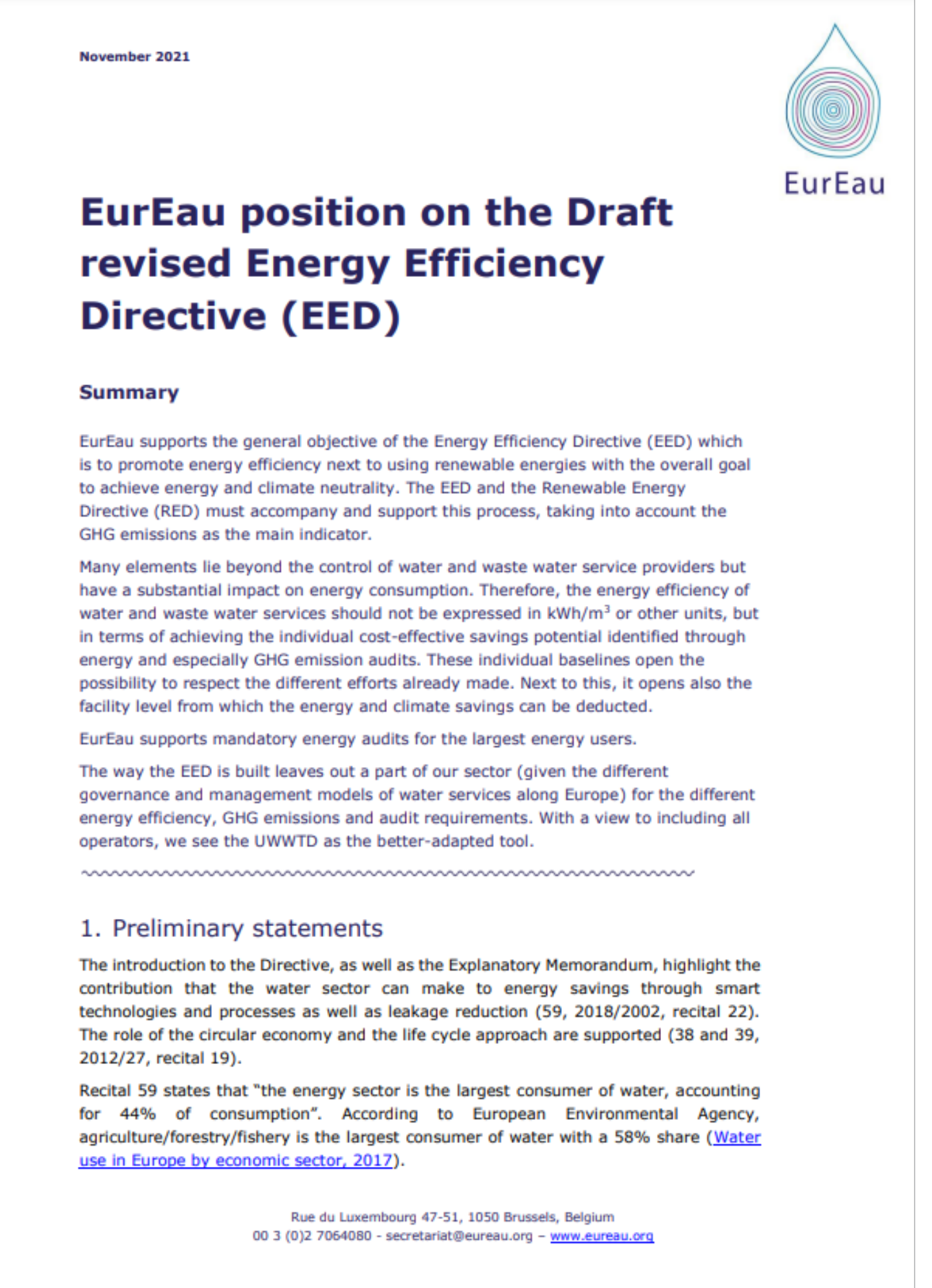 EU restoration targets